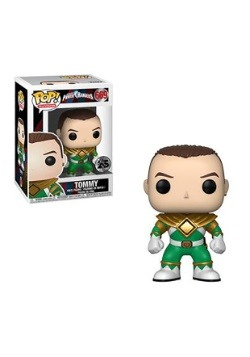Pop! TV: Power Rangers- Green Ranger Tommy (no helmet)