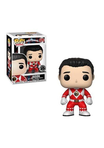 Pop! TV: Power Rangers- Red Ranger Jason (no helmet)