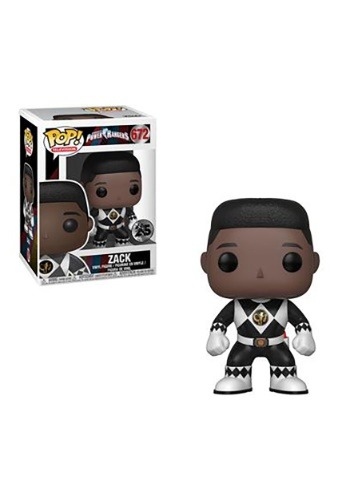 Pop! TV: Power Rangers- Black Ranger Zack (no helmet)