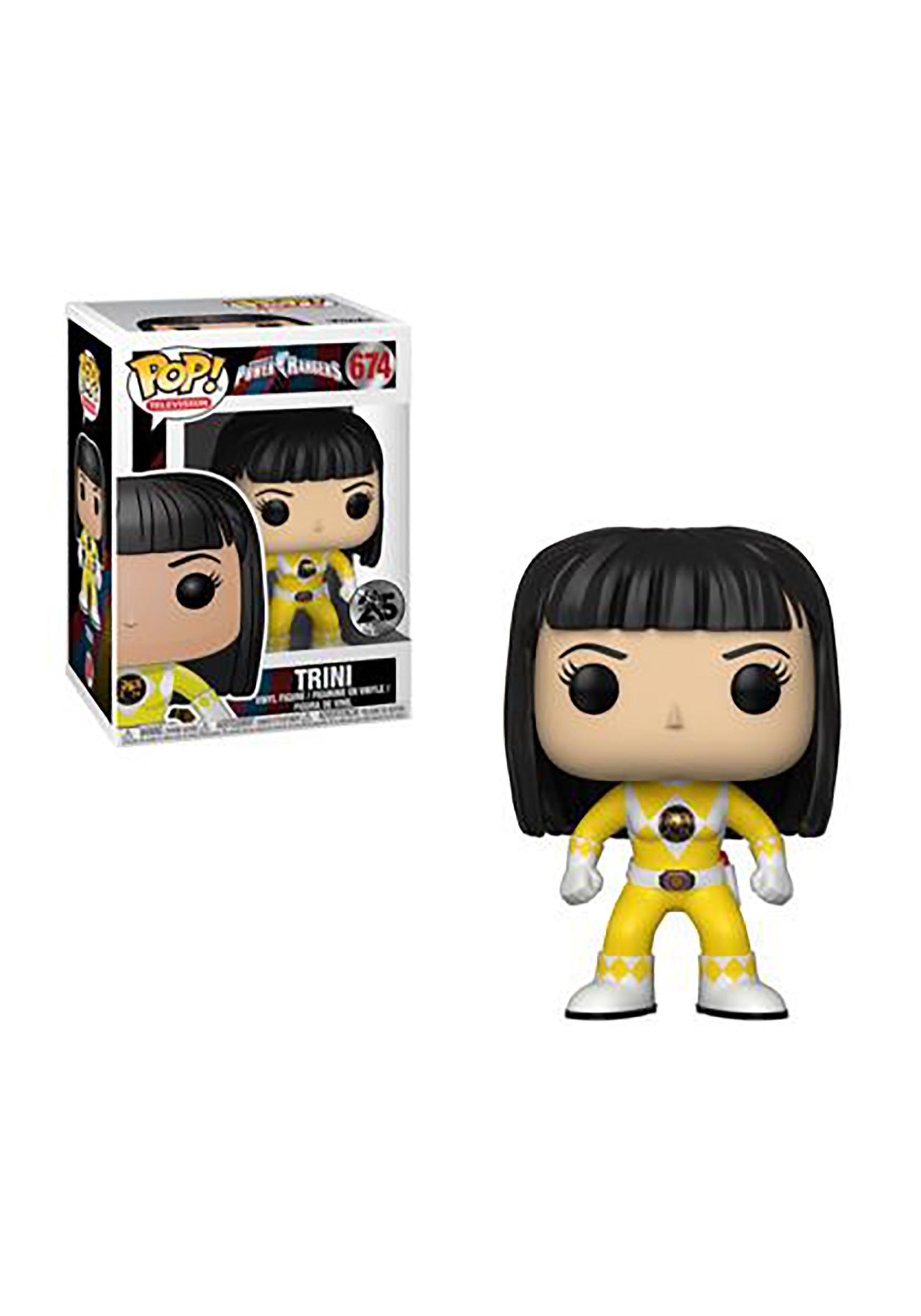 Pop Tv Power Rangers Yellow Ranger Trini No Helmet