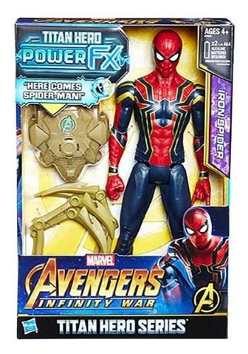Avengers: Infinity War Titan Hero Power FX Iron Spider 12in