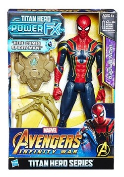 Avengers: Infinity War Titan Hero Power FX Iron Spider 12in