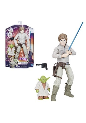 Star Wars Forces of Destiny Luke Skywalker and Yoda Adventur