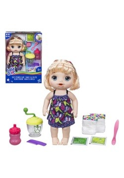 Baby Alive Sweet Spoonfuls Blonde Baby Girl Doll