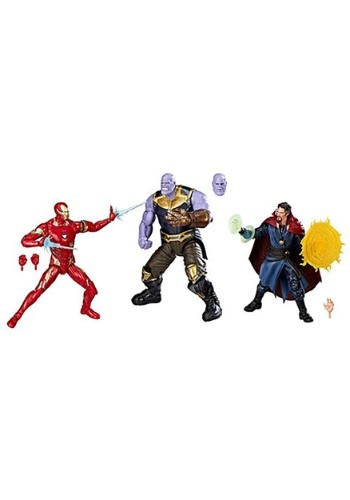 Marvel Legends Avengers Infinity War 6in Figure 3 Pack