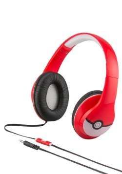 Pokemon Headphones w/ in line Microphone