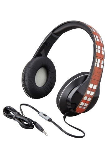 Star Wars Chewbacca Headphones w/ in line Microphone