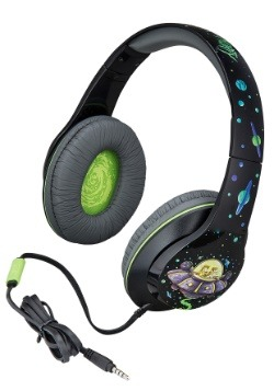Ricky & Morty Headphones w/ in line Microphone