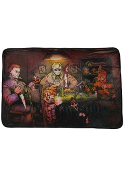 Slasher: Horror Movie Fleece Throw