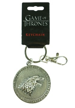 Game of Thrones Stark Sigil Keychain update1