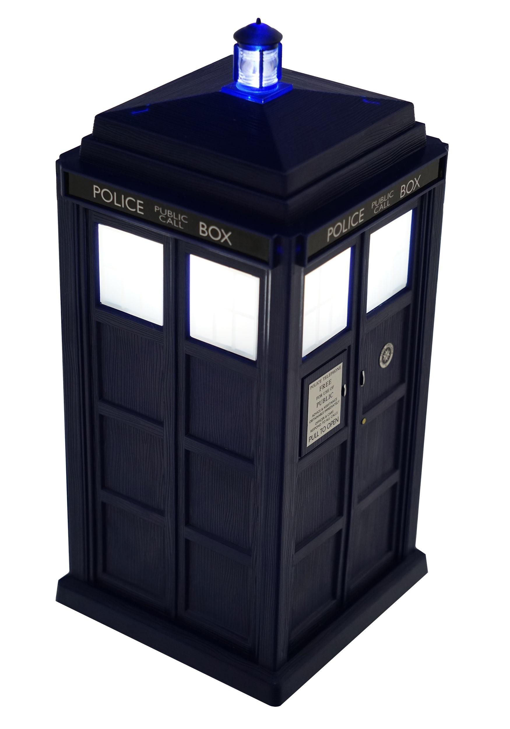 Wall Light Doctor Who Tardis
