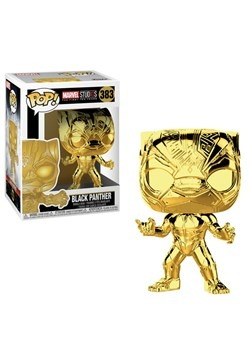 Pop! Marvel Studios 10- Chrome Black Panther upd