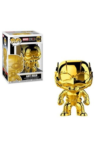 Pop! Marvel Studios 10- Chrome Ant-Man upd