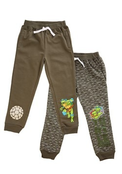 2-Pack of Boy's TMNT Turtle Power Fleece Pants Update Main