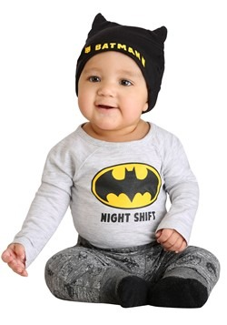 Infant Batman Night Shift Set