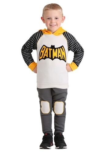Toddler 2 Piece Batman Hoodie and Pant Set for Boys