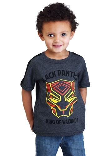 Black Panther King of Wakanda Toddler Boys T-Shirt