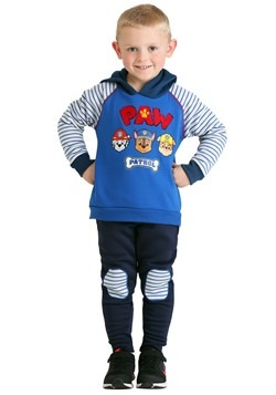 Toddler Boys Paw Patrol Poly Spun Hoodie Pant 2 Pc Set