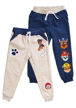 2 Pack of Toddler Boys Paw Patrol Character Fleece Pants Upd
