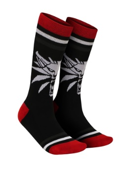 Adult The Witcher White Wolf Socks