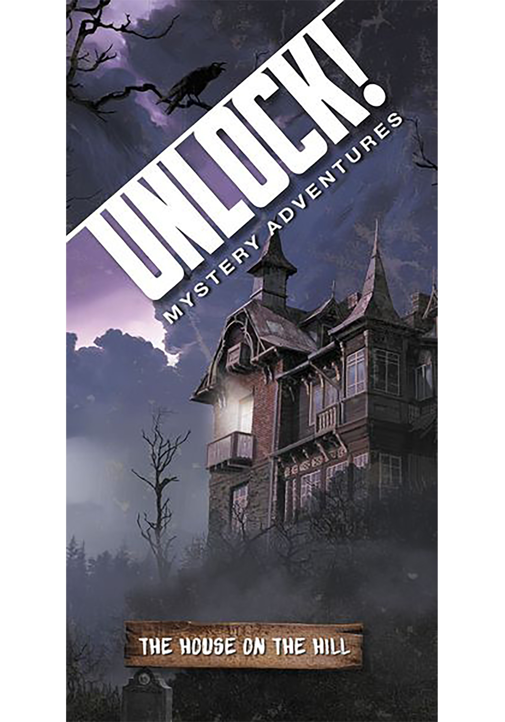 Unlock! The House on the Hill Mystery Adventures Card Game