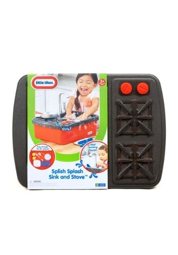 Little Tikes Role Play Splish Splash Sink & Stove Set