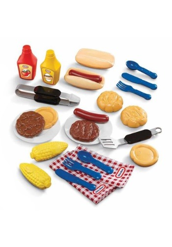 Little Tikes Outdoor Role Play Backyard Barbecue Grillin' Go