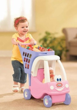 Little Tikes Role Play Princess Cozy Coupe Shopping Cart