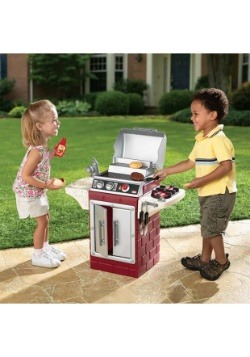 Little Tikes Role Play Backyard Barbeque Get Out Grill Set