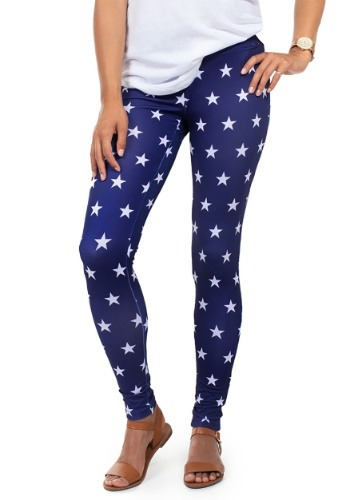 Tipsy Elves Women's Liberty Star Leggings