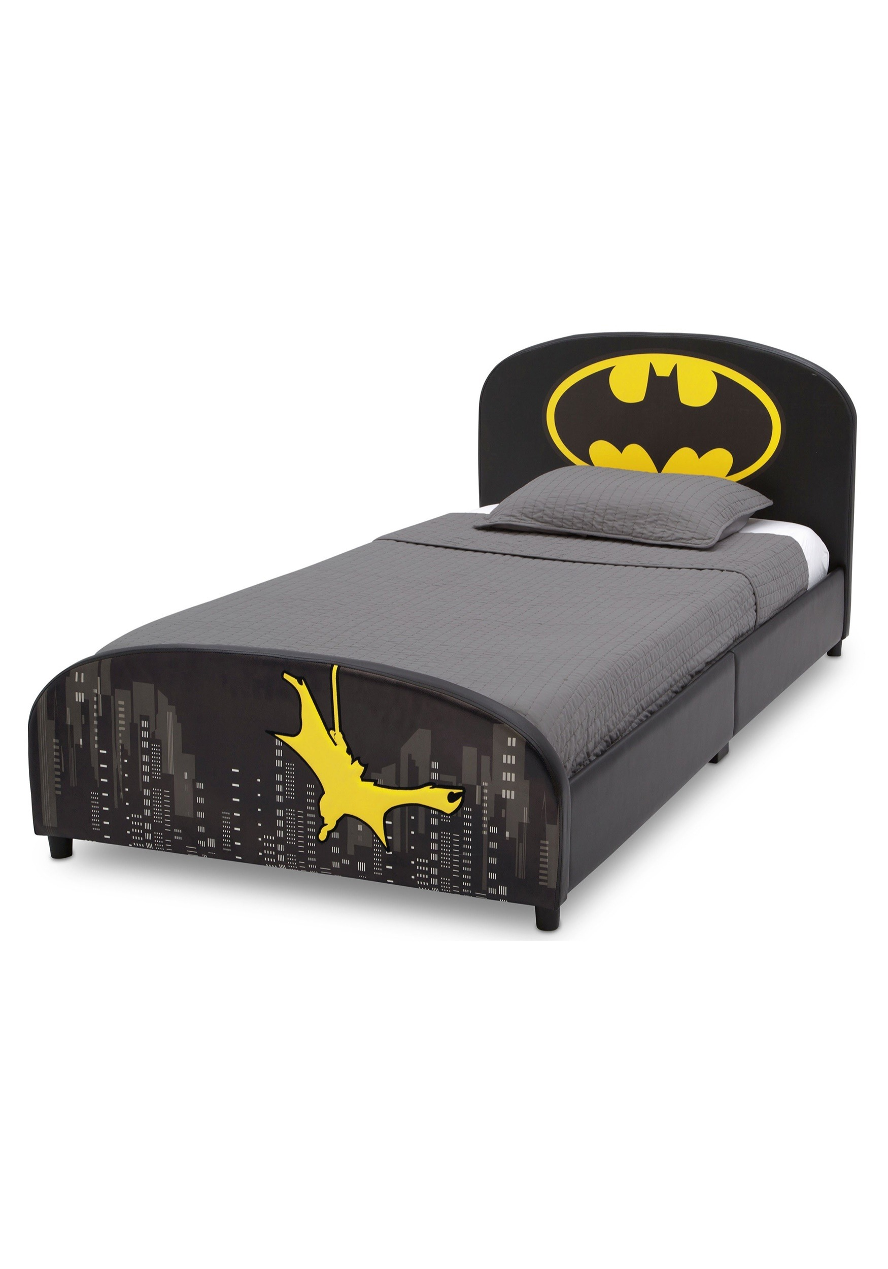 DC Batman Upholstered Twin Bed