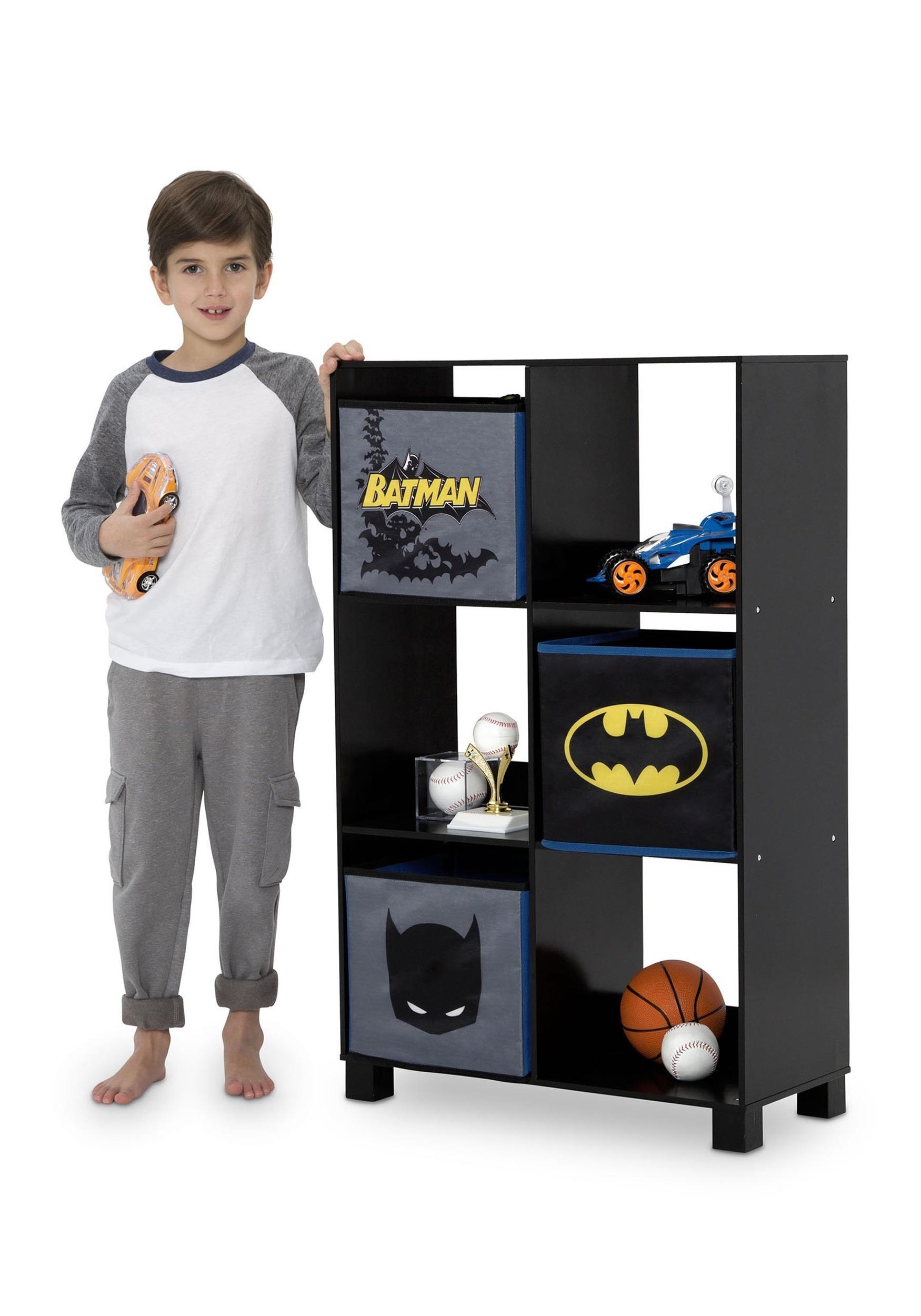 Exceptionnel Batman 6 Cubby Storage Unit Alt1