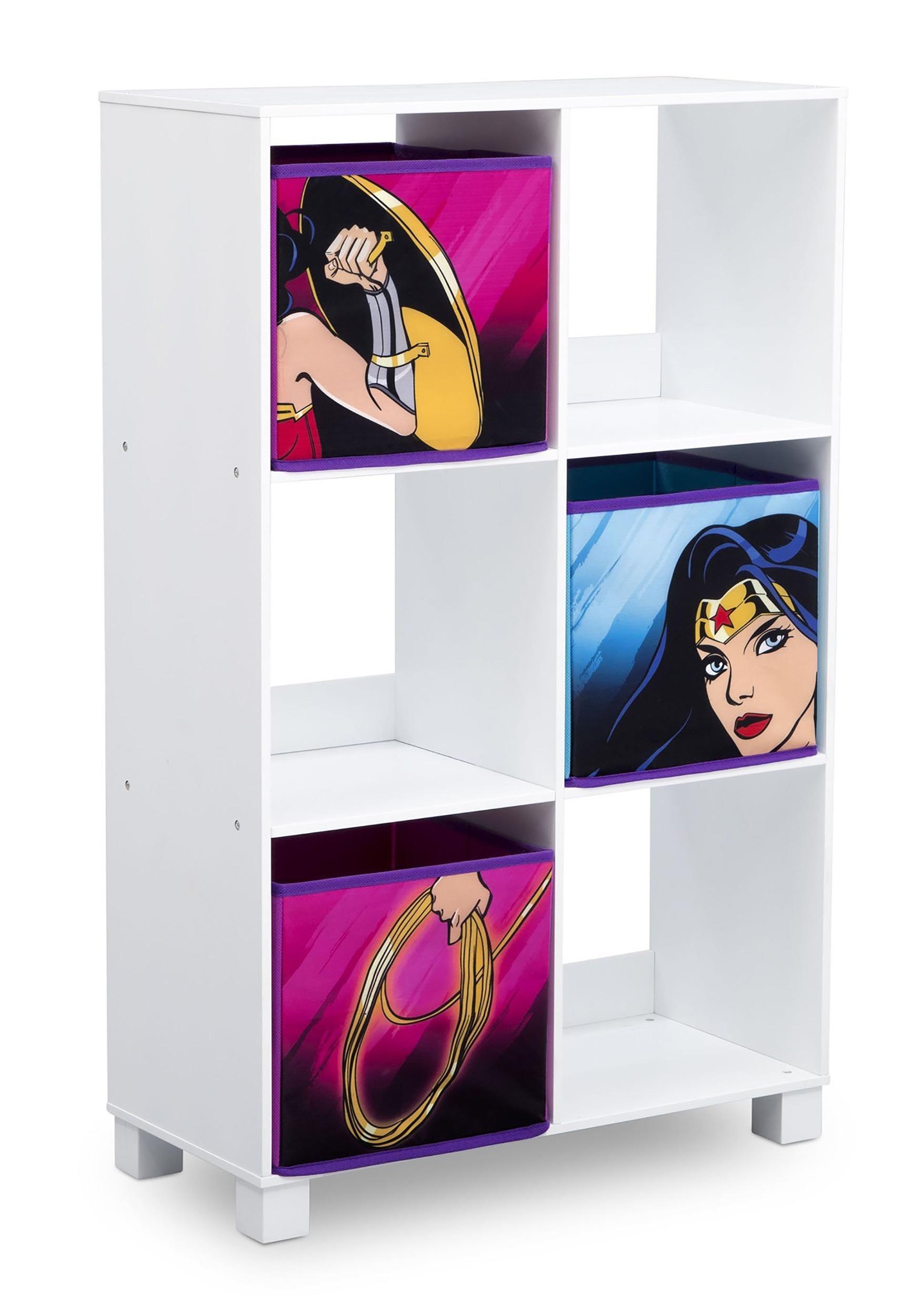 Superieur Wonder Woman 6 Cubby Storage Unit