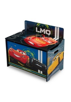 Cars Lightning McQueen Deluxe Toy Box