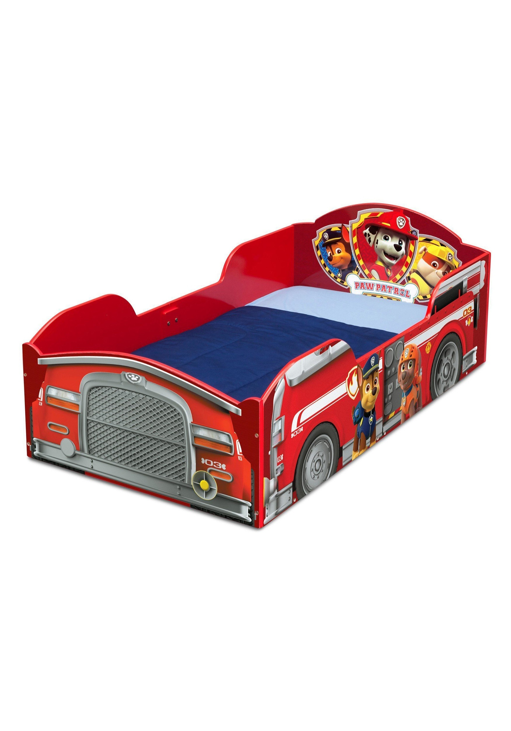Marshall Paw Patrol Fire Truck Wood Bed