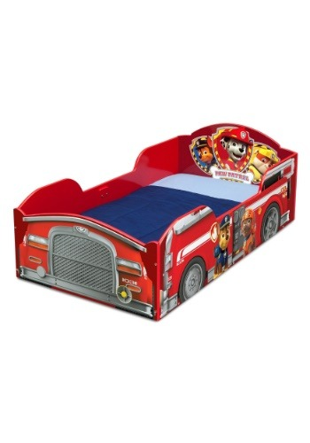 Paw Patrol Marshall Fire Truck Wood Bed