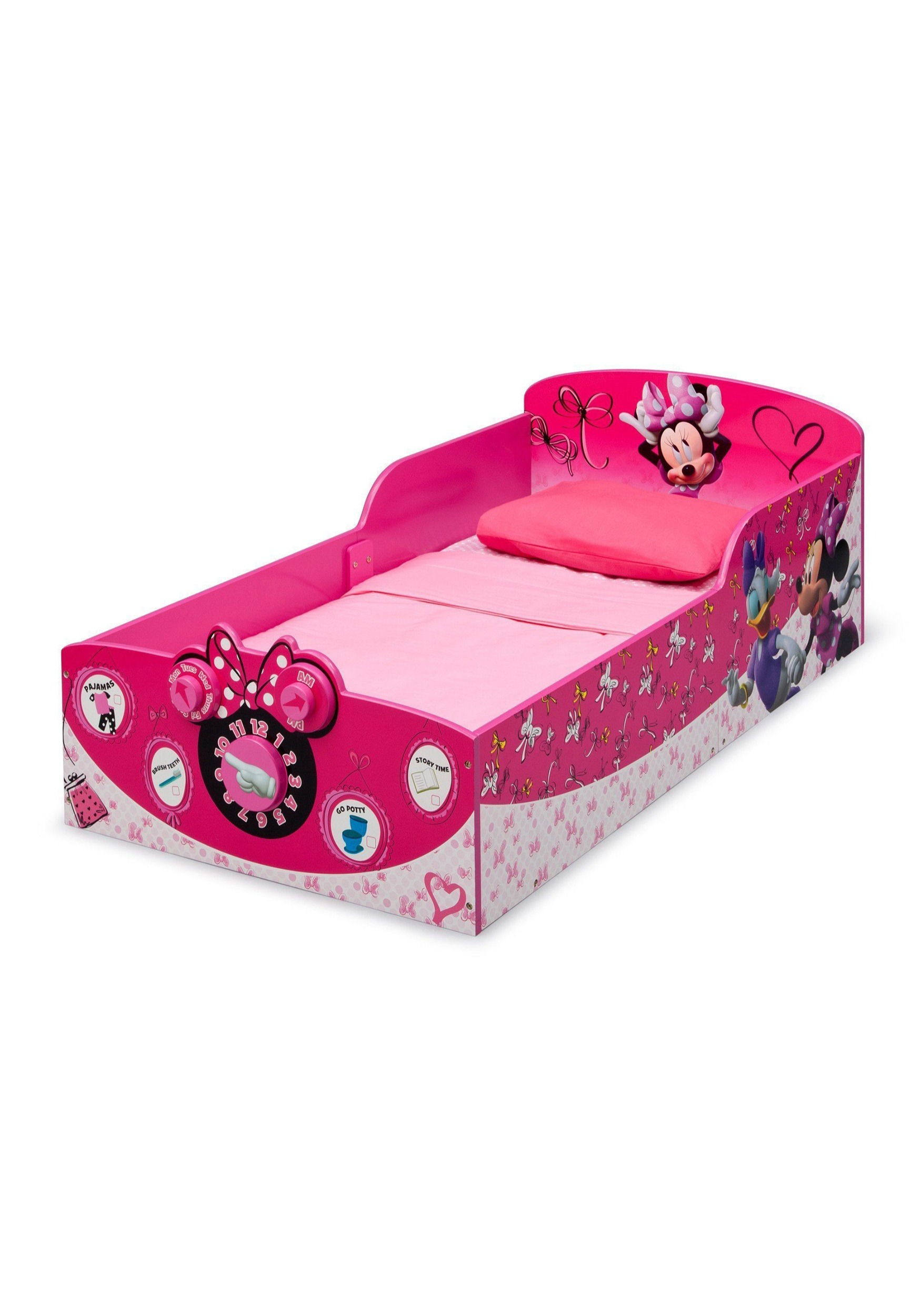 Wooden Toddler Minnie Mouse Bed