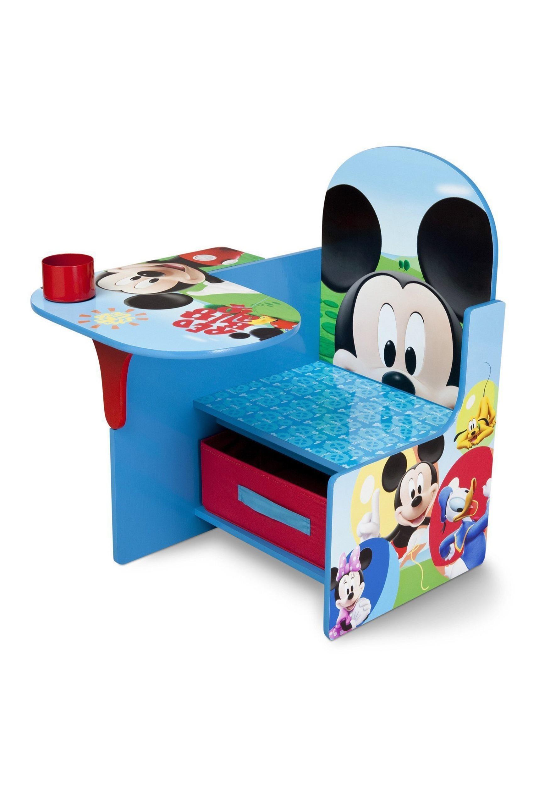 Disney Mickey Mouse Chair Desk W Storage Bin