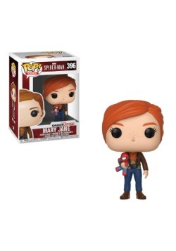 Marvel- Pop! Games: Spider-Man- Mary Jane w/ Plush