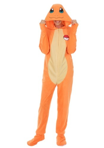Pokemon Charmander Adult's Union Suit