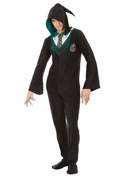 Adult Harry Potter Slytherin Union Suit Update Main