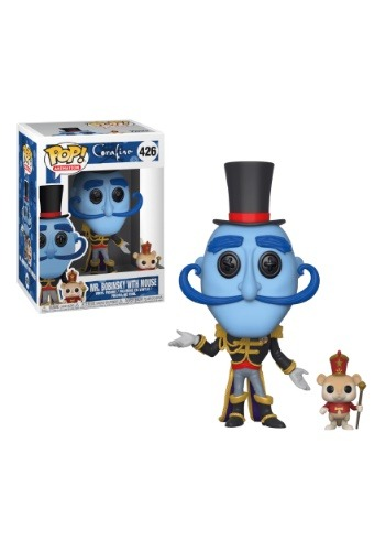 Coraline: Pop! Movies: Mr. Bobinsky with Mouse