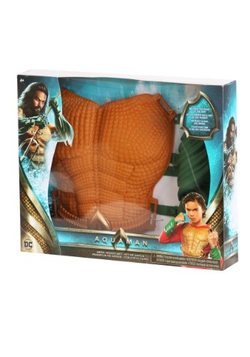 Aquaman Chest Plate Build Up