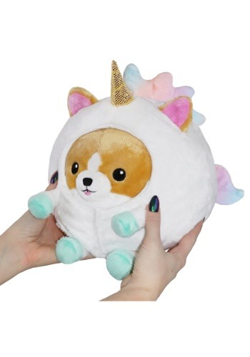 "Corgi in Unicorn 7"" Plush"