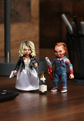 """Chucky & Tiffany 7"""" Scale Action Figure update"""