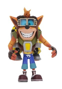 "Crash Bandicoot 7"" Scale Action Figure w/ Jet Pack"