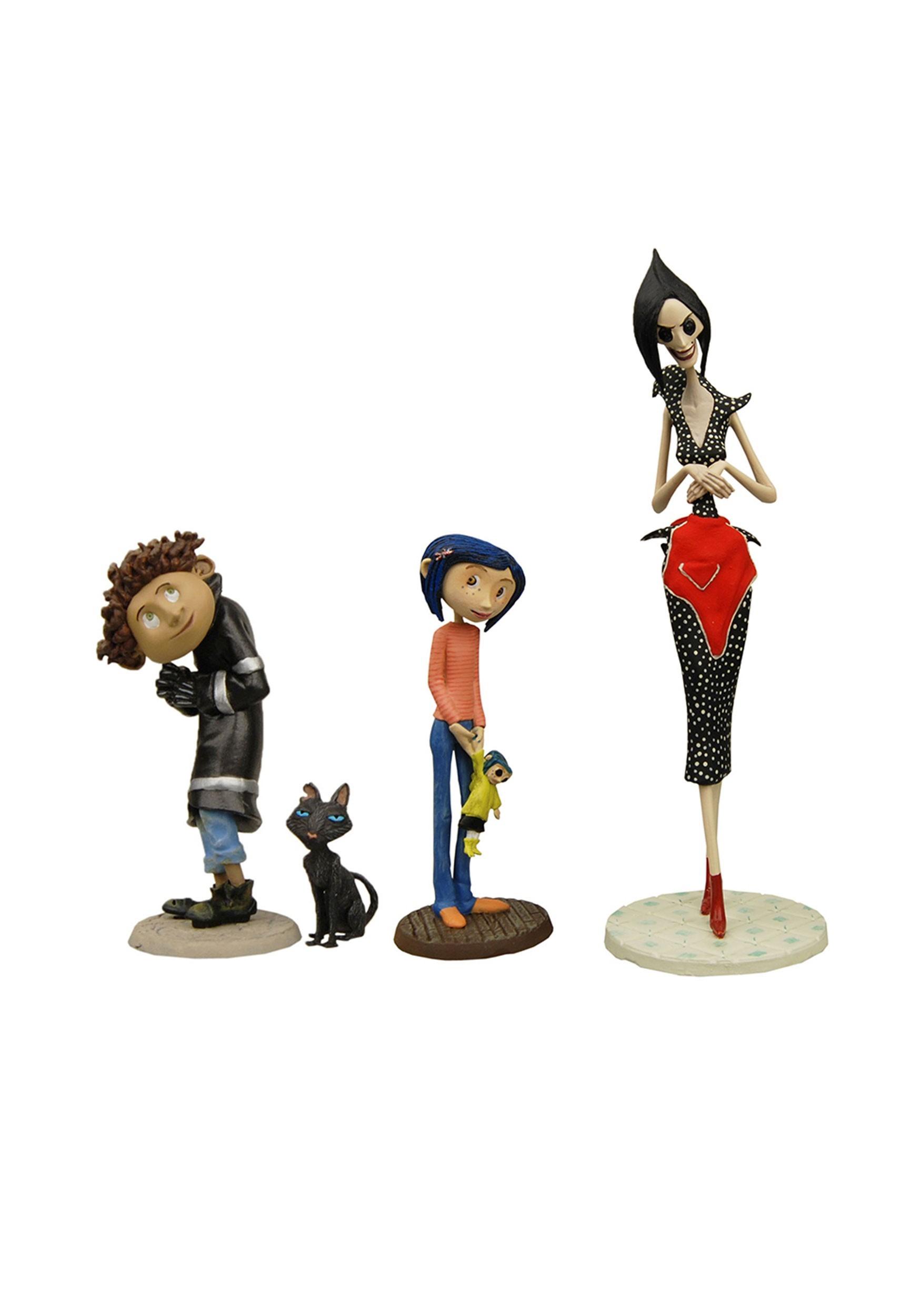 Coraline 3 Pvc Figures Set