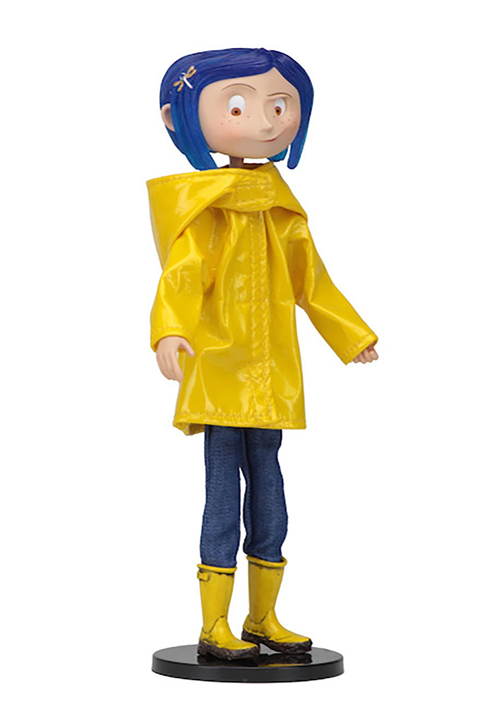 7 Coraline In Raincoat Articulated Figure