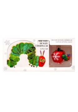 Very Hungry Caterpillar Board Book and Ornament Package
