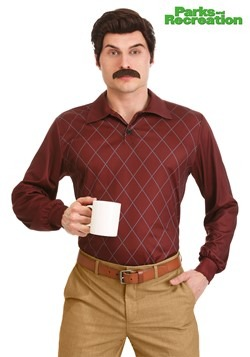 Ron Swanson Plus Size Parks and Recreation Costume